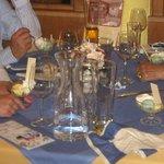 Hotel Vomperhof  Innsburg-having ice-cram as a dessert after dinner