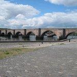 Quayside next to river, Berwick