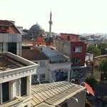 Uitzicht naar de zee van Marmara