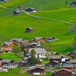 village of Lauenen, Switzerland