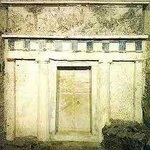 Royal Tomb of Philip II facade