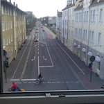 The hartmannstrasse from my window