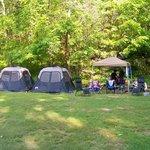Tent sites 8-9