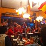 Final of Euro 2012 in La Tasca Bournemouth