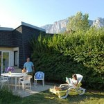 VVF Villages Les Cabannes : terrasse