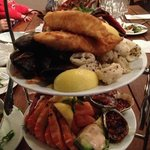 Awsome seafood platter for two