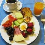 Take-what-you want breakfast buffet