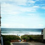 View from our Silver Gull Motel room balcony 5-26-13