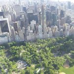 Central Park with a southerly view of Manhattan