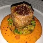 chef suggestion - crispy tuna