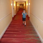 The never ending halls of the hotel