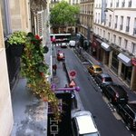 Rue Cujas from our window