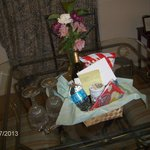 Gift Basket Upon Arrival