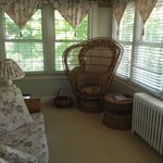 Sitting room in the Shaw Room