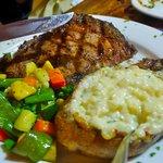 Steak....
