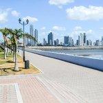 Vista hacia Panamá