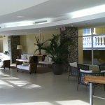 Lobby and hall