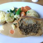 27thMay.2013.Enjoyed wonderful lunch of Haggis Pie, so big could only manage half!! :) Brilliant