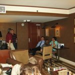 Hospitality room social