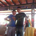 Owen with Ali