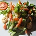 Mixed vege with seafood