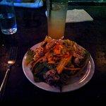 squid salad with chile de arbol dressing (special)