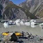Tasman Glacier Lake - after kayaking