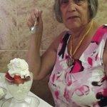 Mum and her Strawberry Merguine