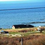 La Vieille École et la vue mer