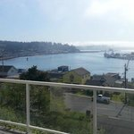 View of Yaquina Bay, Newport Oregon from room