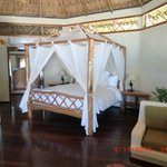 An AAAHHH moment when we walk into our Cabana