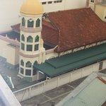 Mosque behind Oriental (Note the speaker)