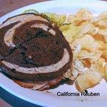 California Reuben is very good.
