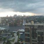 Intercoastal and city view