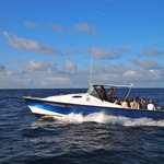 :Kawakawa: our transfer boat