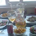 Food and Sangria