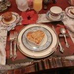 An elegant breakfast