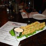 Fried Asparagus - yum!