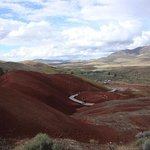 Painted Cove Trail at Painted Hills Unit