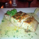 Best slab of Mahi Mahi served during our 2 week holiday on the island ( melt in your mouth stuff