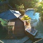 Suíte com piscina privativa