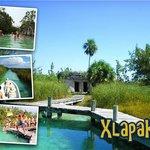swim in maya canal Biosphere of Sian ka'an