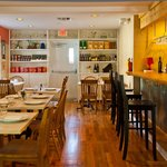 The inside of Casabe 305 Bistro