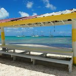 Anegada, Whispering Pines, on the beach
