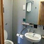 tiny shower room