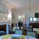 salle à manger du 'Cottage'