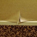Peeling paper in halls