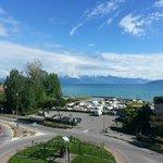 Het Garda Meer vanaf het dakterras hotel