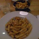 pollo chicken pasta, amazing!!