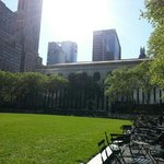 close to the beautiful beautiful bryant park and ny public library